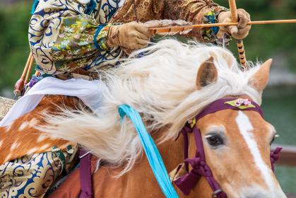 日本の伝統行事 流鏑馬