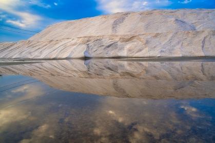 塩湖 リフレクション
