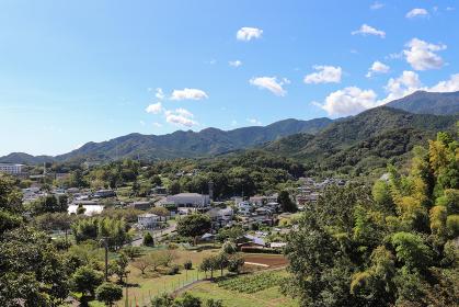 七沢の街並み(神奈川県厚木市)
