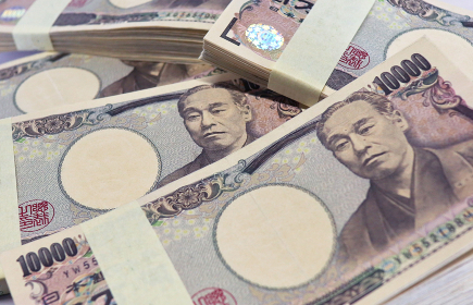 紙幣のイメージ 一万円札 1014