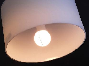LED電球の照明器具