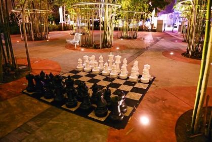 巨人のチェス
