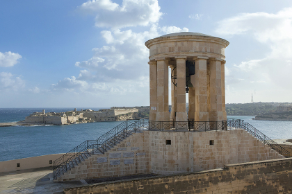 Greate Siege Monument at Grand Harbour Malta