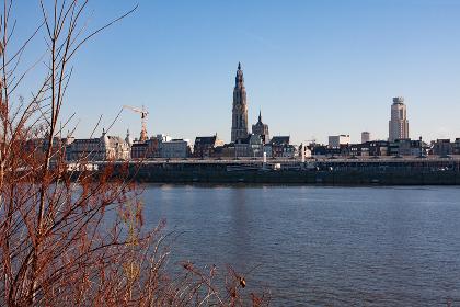 antwerp city panorama