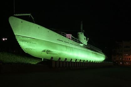ウラジオストックの軍艦