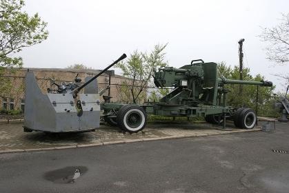 ウラジオストックの機関銃