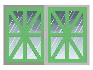 飛散防止 養生テープ 窓ガラス