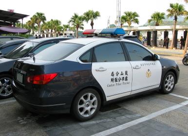 台湾のパトロールカー