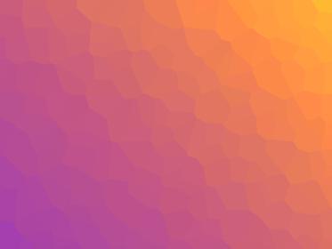 夕焼けカラーのポリゴンがある背景