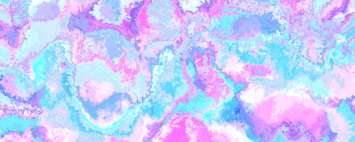 背景素材 水彩絵具のマーブル模様 紫 青
