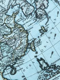 古地図 東アジア