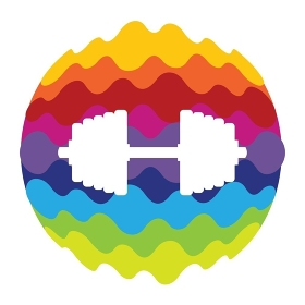Sport Rainbow Color Icon for Mobile Applications and Web Vector Illustration EPS10. Sport Rainbow Color Icon for Mobile Applications and Web Vector
