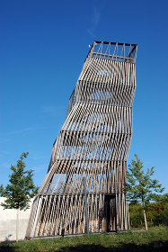 observation tower on the state garden show landau 2015