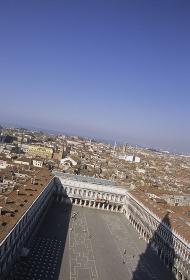 鐘楼からのサンマルコ広場