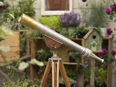 アンティークの望遠鏡