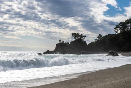 桂浜の風景
