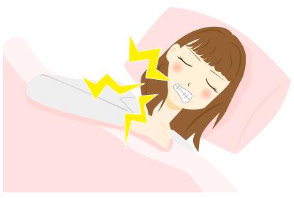 睡眠障害 歯ぎしり 女性