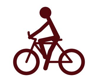 サイクリング アイコン