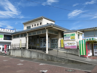 流鉄流山線の平和台駅