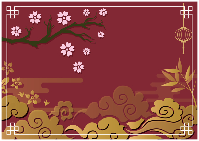 中国風背景素材