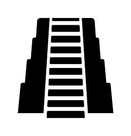 古代遺跡・ピラミッド・マヤ文明・世界遺産 アイコン