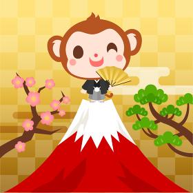サル キャラクター 年賀