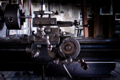 Horizontal turning lathe metal machine, Luxembourg, Luxembourg District, Luxembourg