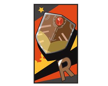 トレーディングカード R シールド