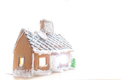 手作りのお菓子の家