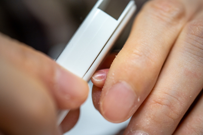 新生児の爪切り