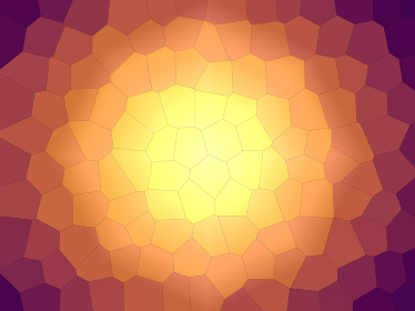 幾何学的な光の背景