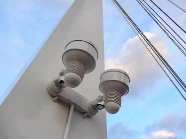 橋のライトアップ用照明器具