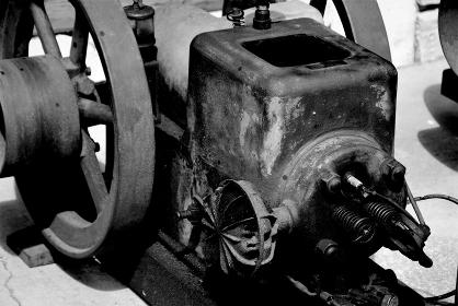 レトロなレシプロエンジン