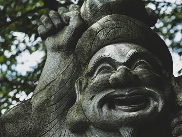 大黒天様の石像