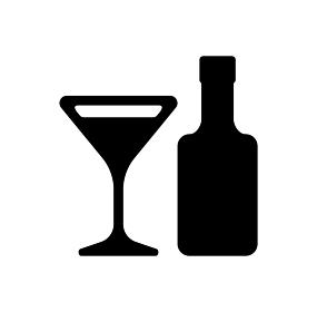 飲酒・アルコール・飲み会・ワイン・カクテル アイコン