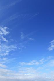 青空 16 秋の空 縦位置