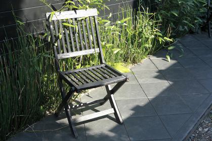 鎌倉の路地 椅子