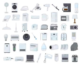電化製品イラスト素材セット / アナログ風