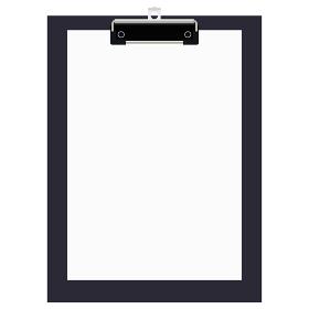 イラスト素材 バインダー ビジネス オフィス 文房具 事務用品 クリップボード ベクター