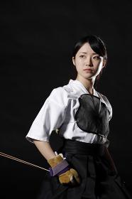 日本人の弓道選手