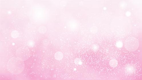 綺麗なパーティクル背景素材 ピンク色