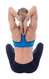 Stretching of pectoral and big dorsal