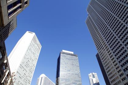 高層ビル群(新宿副都心)