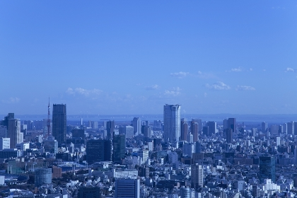 東京都心の街並み 六本木方面
