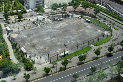 都心の運動場・野球場