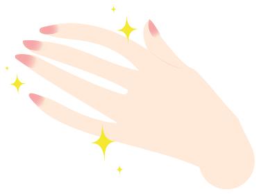 きれいな手と爪