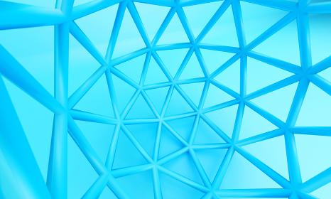 円形網3DCG背景画像