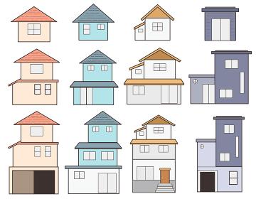 家セット 1~3階建て