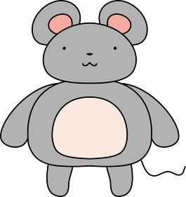 干支 十二支 ネズミ かわいい マスコットキャラクター 年賀状
