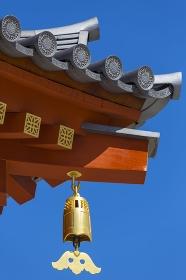 薬師寺大講堂の釣鐘